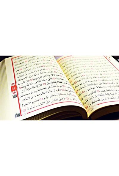 Medrese Kitabevi Kuran Rahle Boy Kadife Kaplı B. Pembe