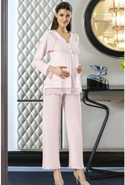 X-Ses Pijama Takımı, Lohusa Pijama Takımı, 2180