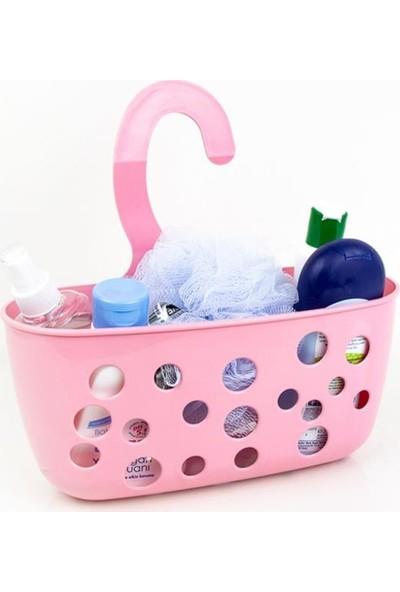 Decobella 2 Adet Decobella Asılabilir Banyo Sepeti Şampuan Rafı Duş Rafı