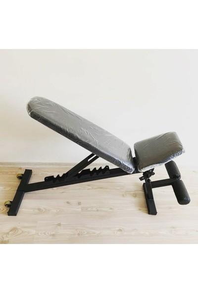Sahra Team Profesyonel Deluxe Ağırlık Bench Press Sehpası CLBSPR190719955, One Size