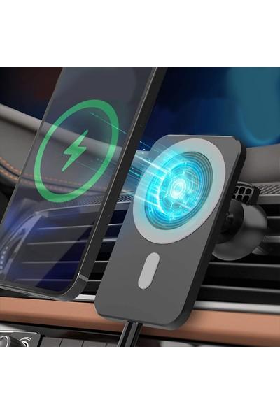 Case 4U Magsafe Charger - Apple iPhone Manyetik Araç Şarj Cihazı