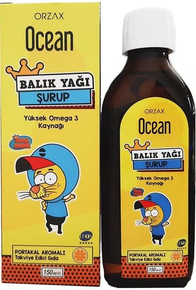 Ocean Balık Yağı Şurup Portakal Aromalı 150 ml