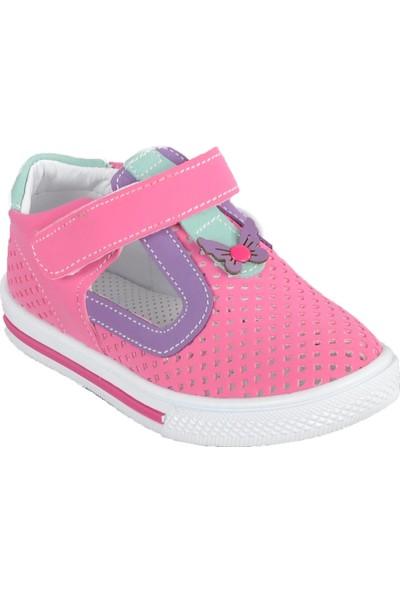 Şiringenç 014 Pembe-Mor Bebek Günlük Ayakkabı