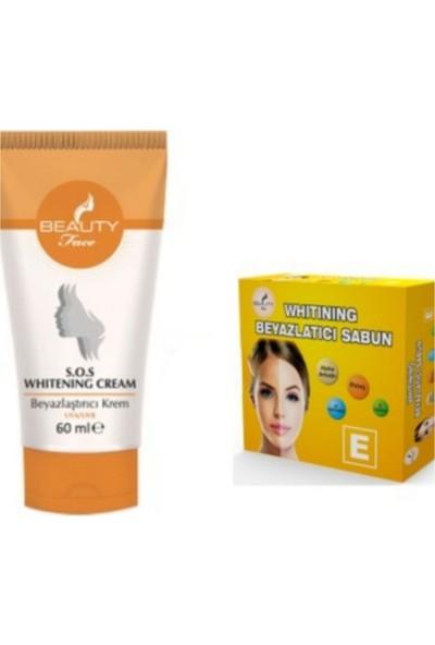 Beauty Face Whıtenıng Cream 60 ml + Beauty Face Whıtenıng Sabun 30 gr