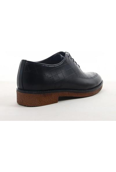 Yeni Yıldız 553 Erkek Klasik Ayakkabı Siyah