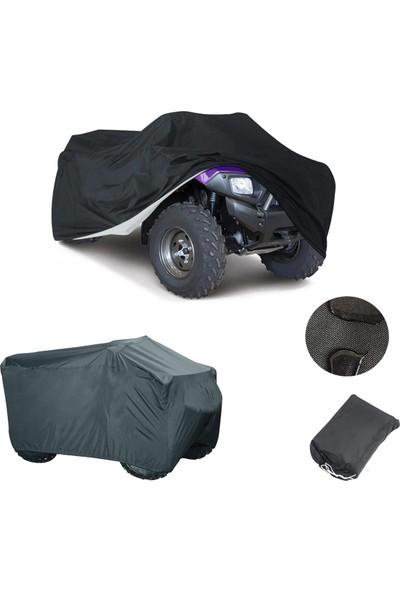 Autozel Polaris Sportsman 570 Efı, Siyah Su Geçirmez Atv Brandası
