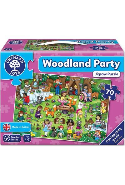 Orchard Toys Woodland Party 70 Parça Puzzle
