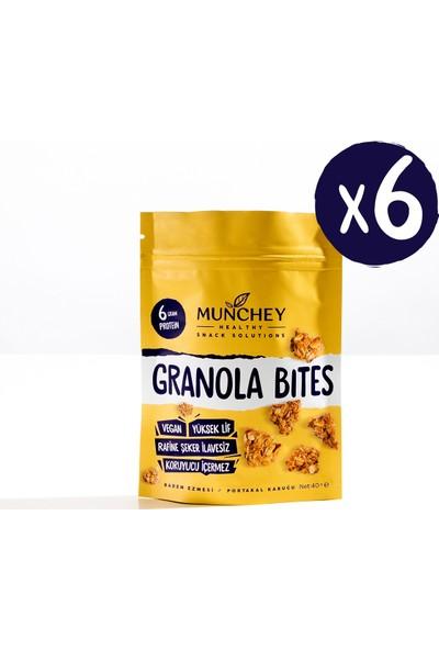 Munchey 6'lı Granola Bites 240 gr