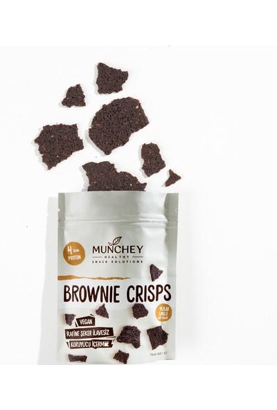 Munchey 2'li Brownie Crisps 80 gr
