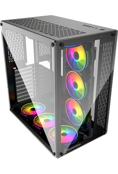 Gametech Archon Kumandalı 9X120 mm Rgb Fan Oyuncu Bilgisayar Kasası