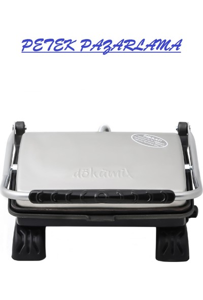 Dökümix Dt 31 Tost Makinesi + Fırça - Inox