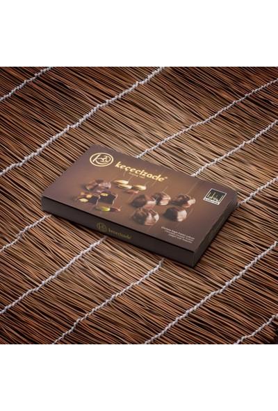 Keçecizade Çikolata Kaplı Duble Fıstıklı Lokum 385 gr
