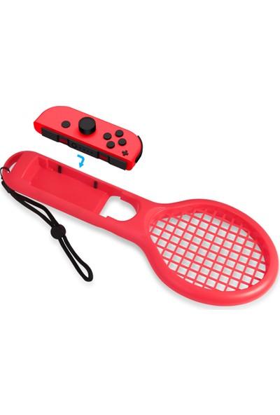 Buyfun Mario Tenis Oyunları İçin N-Switch Joy-Con Kontrolörleri
