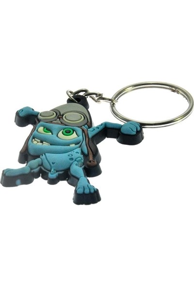 Hd Marketim Sevimli Crazy Frog Figürlü Anahtarlık
