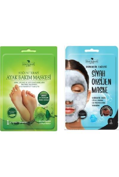 Rituel De Beaute Yoğun Terapi Ayak Bakım Maskesi + Rituel De Beaute Oksijen Maske