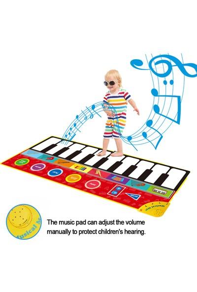 Buyfun Çocuk Müzik Piyano Mat Klavye Oyun Pedi