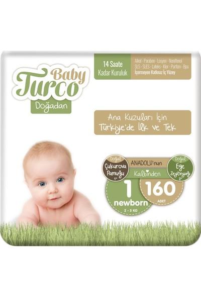 Baby Turco Doğadan 1 Numara Newborn 160'LI