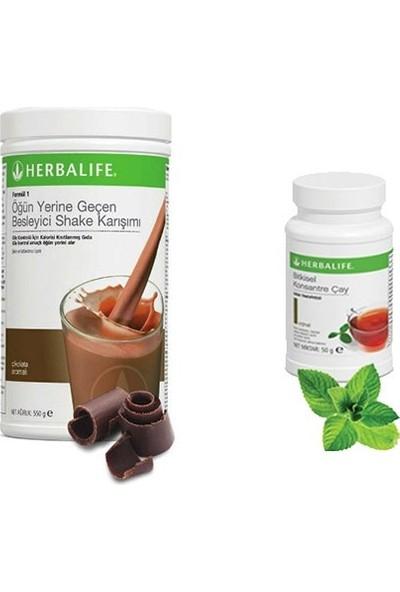 Herbalife Çikolatalı Shake Bitkisel Konsantre Çay Klasik 50GR