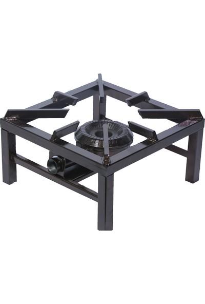 Güryan Mutfak Tüpü & Piknik Tüp Uyumlu Canavar Aşcı Ocağı - 40 x 40 cm