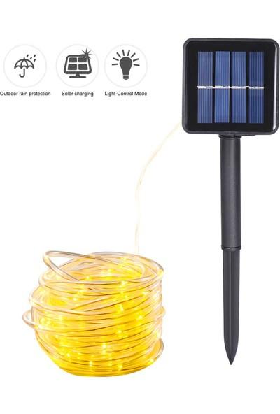 MBW Enerji Tasarrufu Güneş Tüp Dize Işık 12 m 100 Lamba (Yurt Dışından)