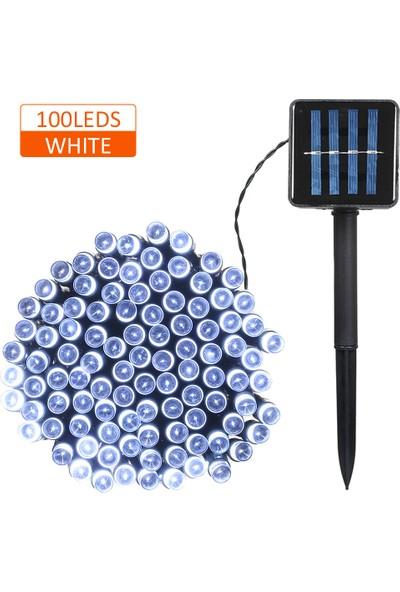 MBW Güneş Enerjili Dize Işık 100/200 Ledli 2 Aydınlatma (Yurt Dışından)