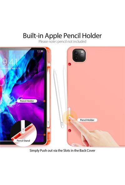 Haweel Apple Ipad Pro 11 2.nesil 11'' Kalem Yerli Ince Standlı Deri Kılıf