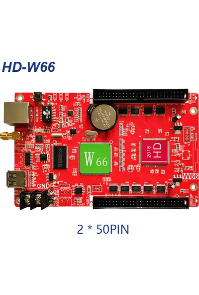 WOW Teknoloji Huidu HD-W66 Kontrol Kart