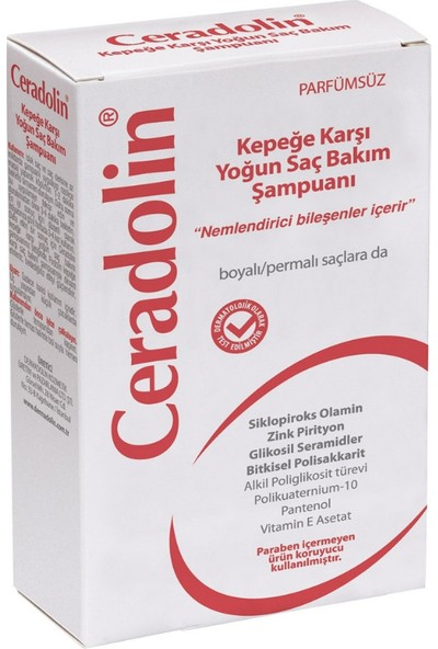Ceradolin Kepeğe Karşı Yoğun Saç Bakım Şampuanı 300 ml