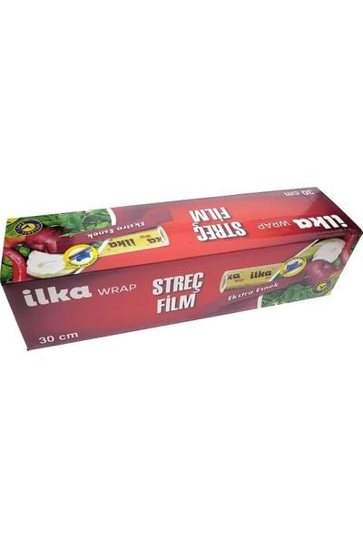 İlka Plastik Ilka Wrap Streç Film 30 cm x 270 M 8 Mikron (20'li)