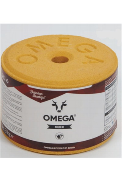 Omega Nourfat - Yalama Taşı (3 Kg)