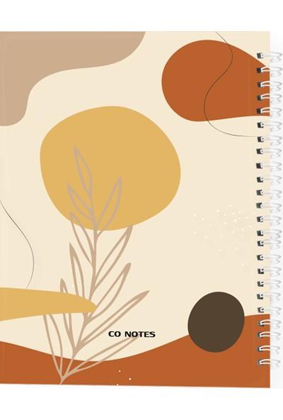 Co Notes A5 Autumn Series Spiralli Noktalı Defter 15 x 21 cm
