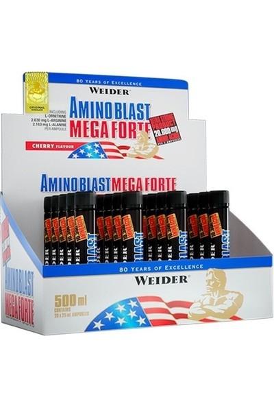 Weider Amino Liquid Mega Forte (13,900 mg/ampul - 20 ampul/kutu)