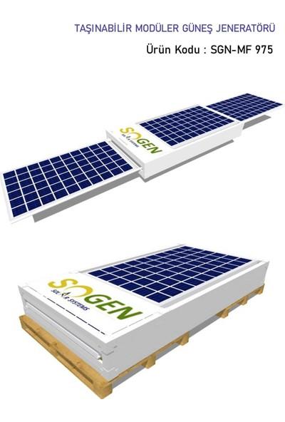 Sogensolar Sogen Solar Modüler Solar Jeneratör - Sgn-Mf 975 Ad Sgn-Mf 975 Ad