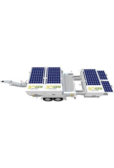 Sogensolar Sogen Solar Römork Üzeri Taşınabilir Modüler Solar Jeneratör Sgn-R 5850PLUS Ad