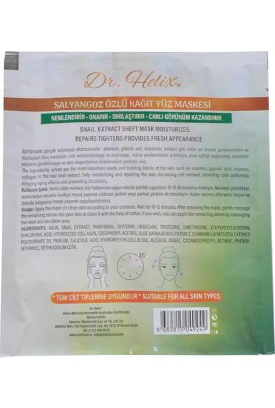 Dr. Helix Salyangoz Özlü Onarıcı Nemlendirici Kağıt Yüz Maksesi 10'lu