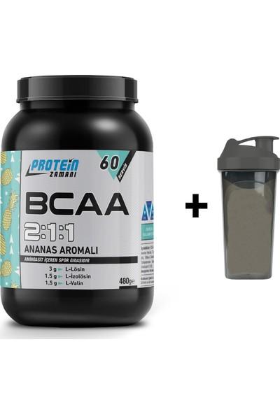 Protein Zamanı Bcaa 2:1:1 480 Gram 60 Servis - Shaker