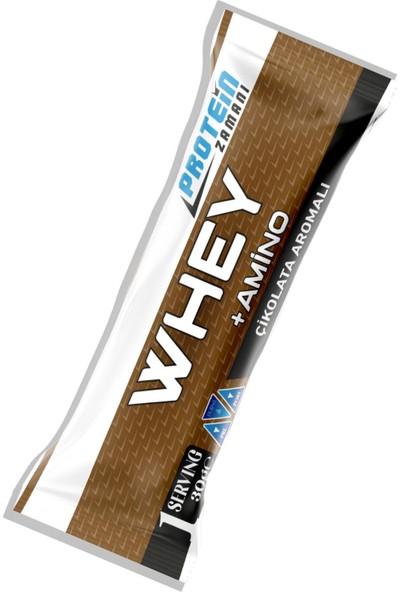 Protein Zamanı Whey Protein Tozu + Amino 30 gr Saşe Paket