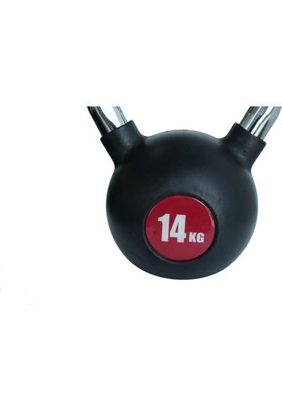 Power 14 kg Kettlebell-Çaydanlık Dambıl