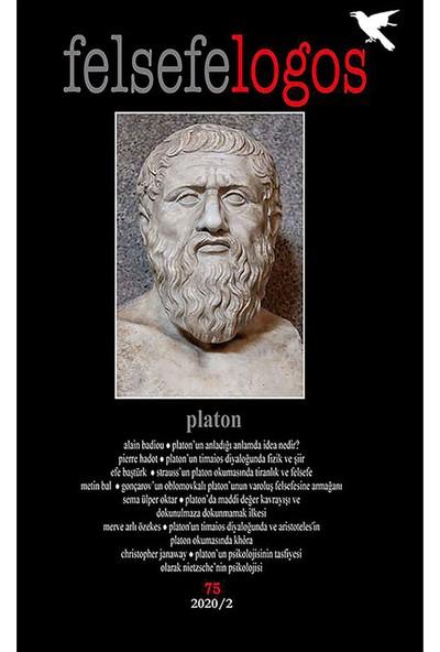 Felsefelogos Sayı: 75 Platon