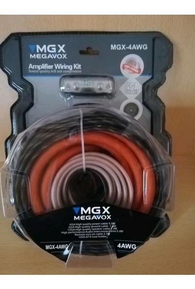 Megavox - 4ga Kalın -Bakır Oranı Yuksek- Prof Set Kablosu