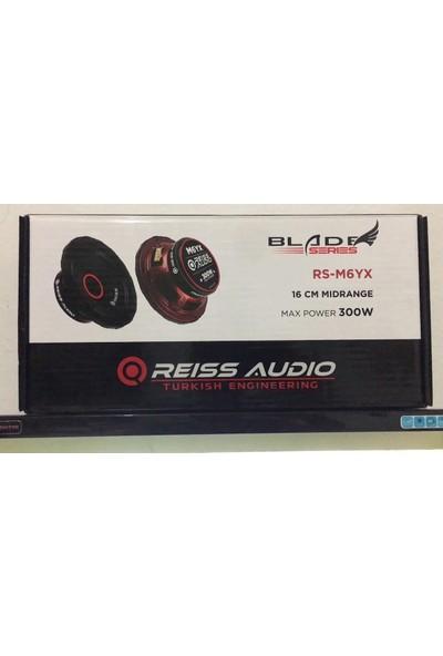 Reiss Audio RS-M6YX-16CM-300W MAX-120W Rms Profesyonel Midrange 2ADETTİR-KAPAKLIDIR
