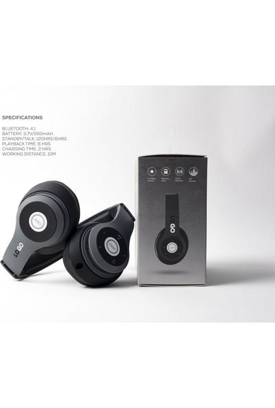iJoy Logo Premium Katlanabilir Kablosuz Kulaklık (Yurt Dışından)