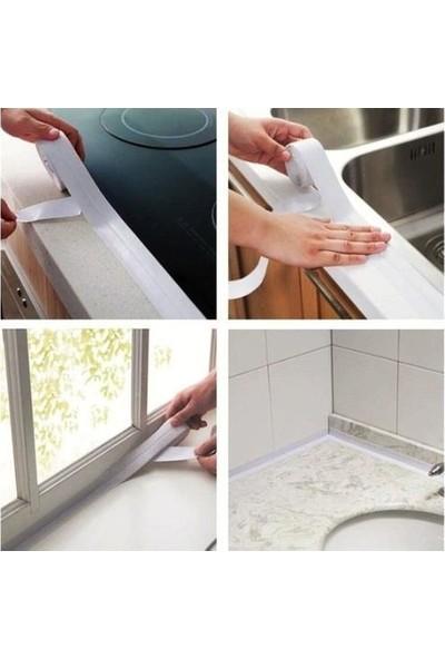 Technomax 3m Su Sızdırmaz Bant Mutfak Lavabo Pencere Tezgah Sızdırmazlık Bandı 38MMX3,35 MT-1ADET