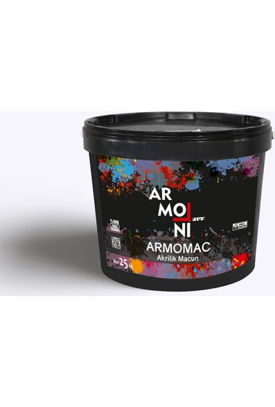 Armoni Armomac Alrilik Macun 25 kg