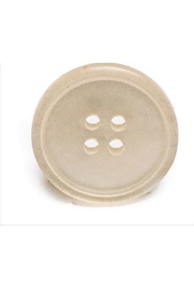 Anka Ankapolyester Düğme Kırık Beyaz 18MM 20 Adet