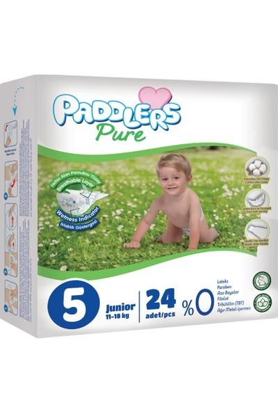 Paddlers Pure 5 Numara Junior 24 Adet 11-18 kg Eko Paket