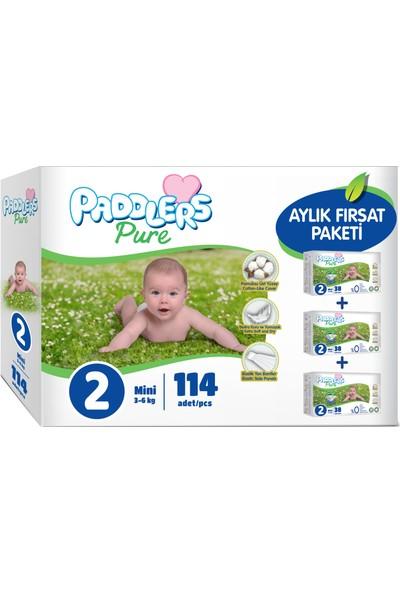 Paddlers Pure 2 Numara Mini 3-6 kg 114 Adet Aylık Fırsat Paketi
