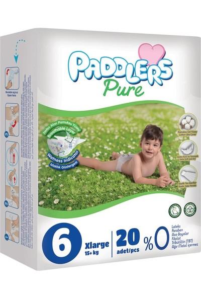 Paddlers Pure 6 Numara X-Large 20 Adet 15+Kg Eko Paket