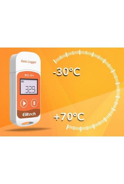 Elitech Rc-5+ Sıcaklık Kayıt Cihazı Datalogger