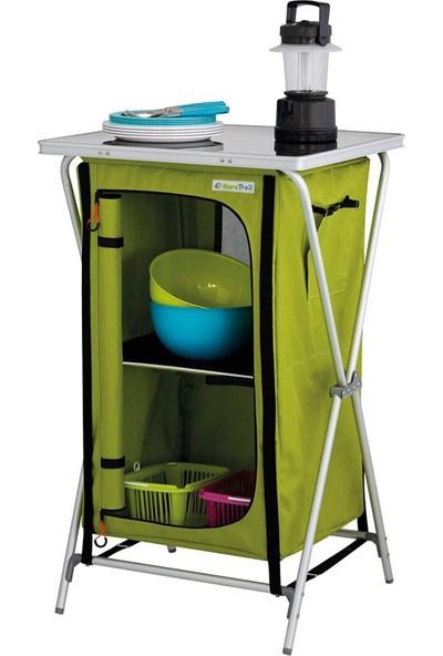 Euro Trail Cozumel Kamp Mutfak Dolabı Yeşil